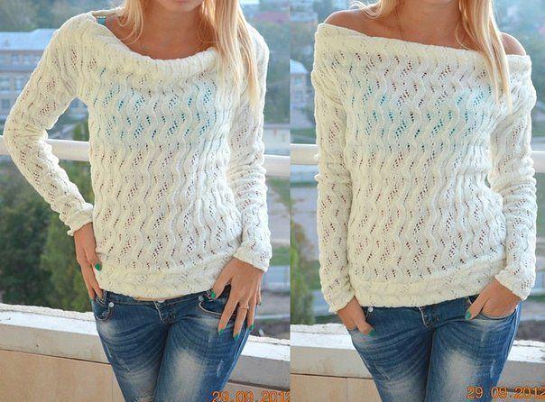 Свитера, пуловеры, топы, кофты - Колибри Вязание спицамиНарисуйте схему обр